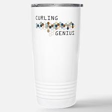 Curling Genius Stainless Steel Travel Mug