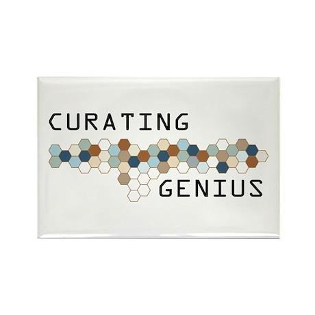 Curating Genius Rectangle Magnet (10 pack)