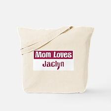 Mom Loves Jacob Tote Bag
