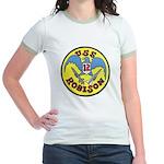 USS ROBISON Jr. Ringer T-Shirt