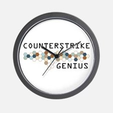 CounterStrike Genius Wall Clock