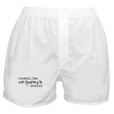 Counseling Genius Boxer Shorts