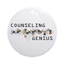 Counseling Genius Ornament (Round)