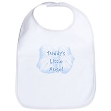 Daddy's Little Angel Bib