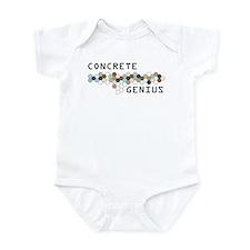 Concrete Genius Infant Bodysuit