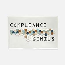 Compliance Genius Rectangle Magnet (10 pack)
