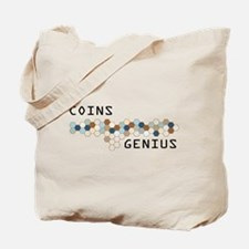 Coins Genius Tote Bag
