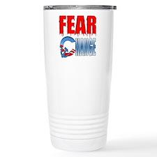 Fear Obama's Change! Travel Mug