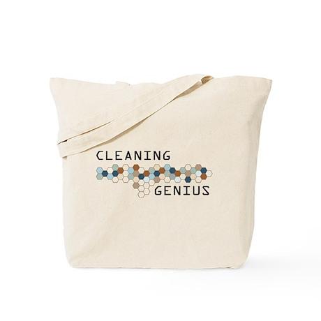 Cleaning Genius Tote Bag