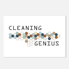 Cleaning Genius Postcards (Package of 8)