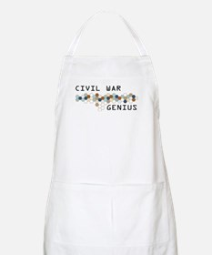 Civil War Genius BBQ Apron