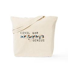 Civil War Genius Tote Bag