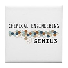 Chemical Engineering Genius Tile Coaster