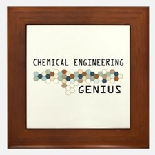 Chemical Engineering Genius Framed Tile