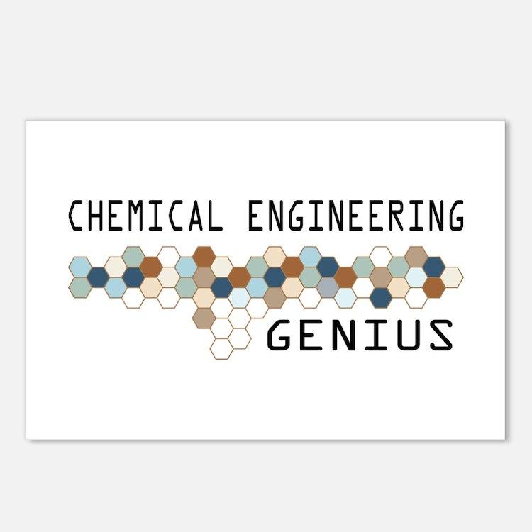 Chemical Engineering Genius Postcards (Package of