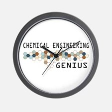 Chemical Engineering Genius Wall Clock