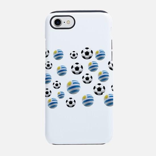 Uruguay Soccer Balls iPhone 7 Tough Case