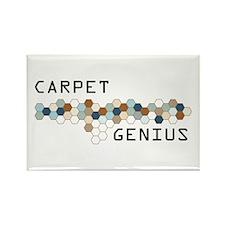 Carpet Genius Rectangle Magnet