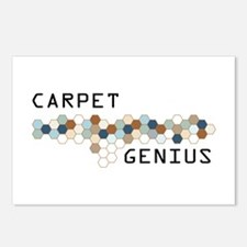 Carpet Genius Postcards (Package of 8)