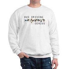 Bus Driving Genius Sweatshirt