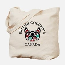 British Columbia Haida Kitty Tote Bag