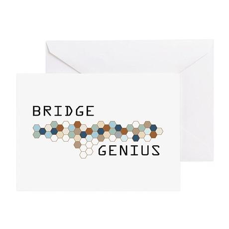 Bridge Genius Greeting Card