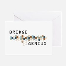Bridge Genius Greeting Card