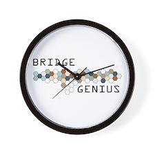 Bridge Genius Wall Clock