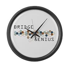 Bridge Genius Large Wall Clock