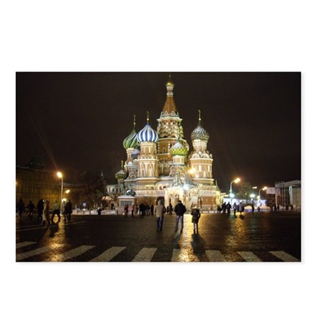 St. Basil's Postcards (Package of 8)
