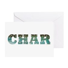 CHAR Word Greeting Card