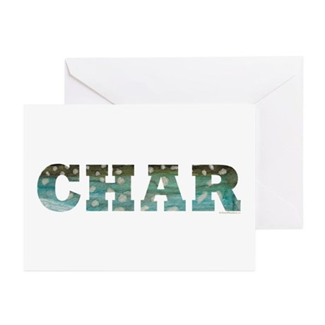 CHAR Word Greeting Cards (Pk of 20)