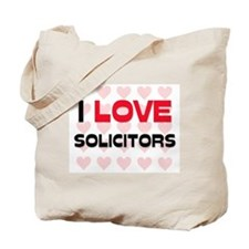 I LOVE SOLICITORS Tote Bag
