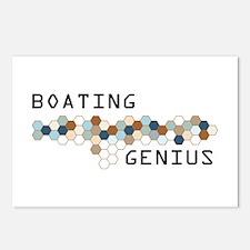 Boating Genius Postcards (Package of 8)