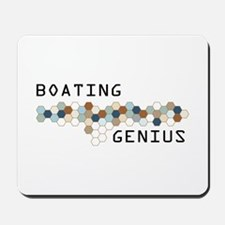 Boating Genius Mousepad