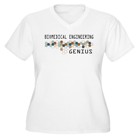 Biomedical Engineering Genius Women's Plus Size V-