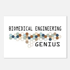 Biomedical Engineering Genius Postcards (Package o