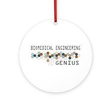 Biomedical Engineering Genius Ornament (Round)