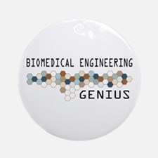 Biomedical Engineering Genius Ornament (Round)