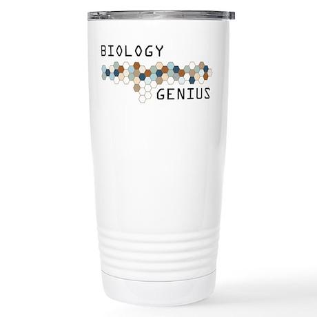 Biology Genius Stainless Steel Travel Mug