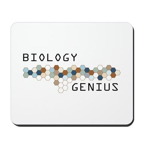 Biology Genius Mousepad