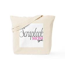 Scrapbook Mom Tote Bag