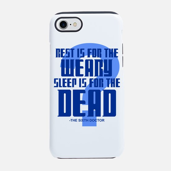 Sixth Doctor iPhone 7 Tough Case
