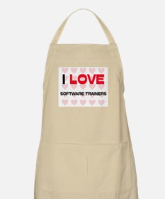 I LOVE SOFTWARE TRAINERS BBQ Apron