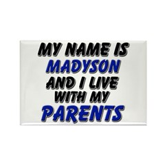 my name is madyson and I live with my parents Rect