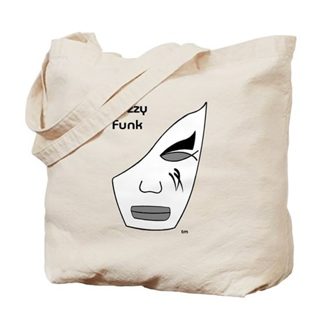 Fuzzy Funk Mask Tote Bag