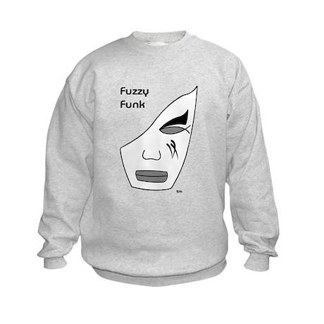 Fuzzy Funk Mask Kids Sweatshirt