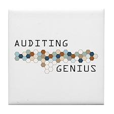 Auditing Genius Tile Coaster