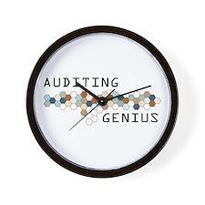 Auditing Genius Wall Clock