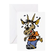 New Goat 1 Greeting Cards